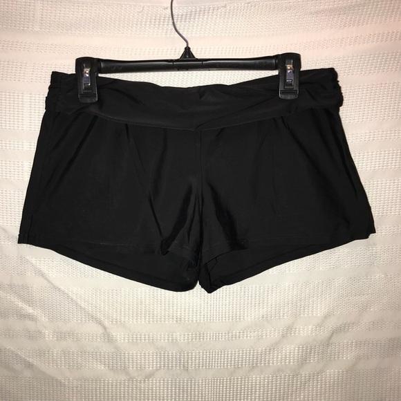 5b7048178d Athleta Swim | Black Splash Shorts Suit Bottoms Sz S | Poshmark
